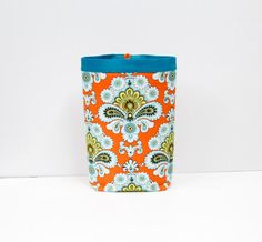 Car Trash Bag AMY BUTLER French Wallpaper Women Car by GreenGoose, $26.00