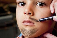 Maquiagem festa junina masculina