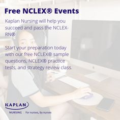Check out our NCLEX Free Events! They range from setting you up for NCLEX success to practice tests. Nclex Practice Questions, Kaplan Nursing, Test Day, Success, Range, Events, This Or That Questions, Check, Free