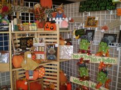 craft booth display ideas   Display wire For Crafts Booths   Craft show set-up ...   Sewing Ideas