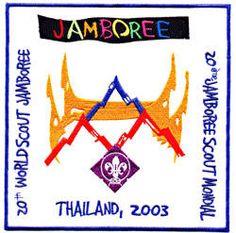 20th World Jamboree Badge