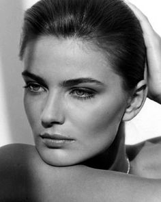 Model: Paulina Porizkova- pinner: George Pin