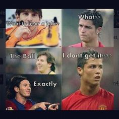 This is so rude. Ronaldo is better than messi by a lottt