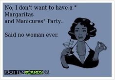 No, I don't want to have a  Margaritas and Manicures Party..  Said no woman ever.   Book your Jamberry nails home, catalog or FACEBOOK party right now, online!  http://www.noelgiger.simplybook.me/