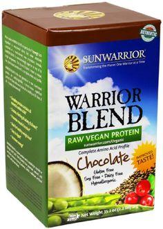 Sunwarrior Warrior Blend Protein, Chocolate 2.2 lbs (FFP) - http://www.majestydiet.com/sunwarrior-warrior-blend-protein-chocolate-2-2-lbs-ffp/
