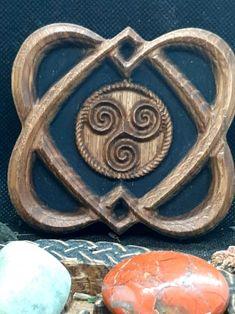 COEURS CELTE ET TRISKEL ARTFORWICCA - ArtforWicca Creations, Symbols, Home Made, Woodwind Instrument