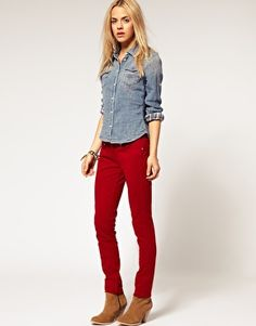 Pepe Jeans Colored Jegging  $87.26