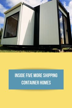 Inside Five MORE Shipping Container Homes - Discover Containers Building Code, Building A House, Spray Foam Insulation, Surround Sound Systems, Air Conditioning System, Shipping Container Homes, Upper Deck, Floor Space, Lounge Areas