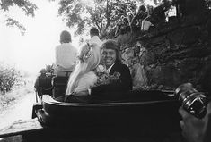 Agnetha And Bjorn's Wedding In The Village Of Verum, Southern Sweden July 6, 1971