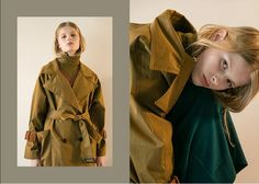 us.wconcept.com $348 [FRONTROW X Low Classic] Oversized Double Button Trench Coat