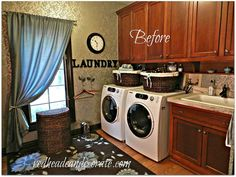 Laundry/Mud Room Makeover