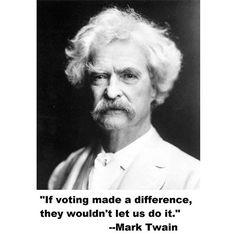 Mark Twain Real name : Samuel Clemens