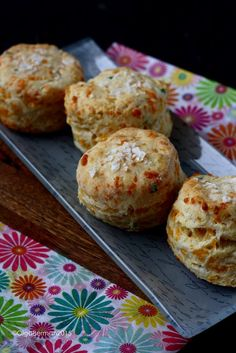 Cheddar Chive Biscuit Recipe From @pinchmysalt