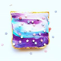 www.mintandmaplecollective.com.au Galaxy Board Coming Soon! #unicorntoast #mermaidtoast #galaxytoast #birthdayboards
