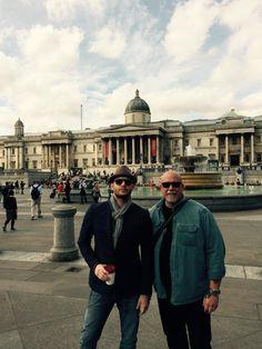 Clif Kosterman @bodyguard4JandJ   May 2015 Strolling around London Town yesterday  :)