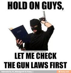 Said no violent criminal ever.