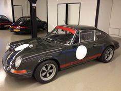 Slate Grey Porsche 911 Hotrod