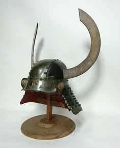 Samurai Helmet, What Is An Artist, Auction, Table Lamp, Home Appliances, Warfare, Arms, Home Decor, House Appliances