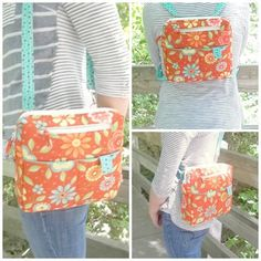 This is a Grace's Cases Designs PDF sewing pattern. Frustrated with purses that claim to be convertible but require changing strap lengths or connections or using a different strap? This purs…