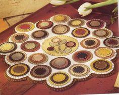 feltro...A pretty penny rug...