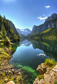 Gosausee - Lake Gosau by Markus T. Berger ⇒ www.mtberger-photography.com