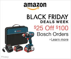 Black Friday Deals – Save $25 Off $100 Bosch Orders - See more at: http://justgetideas.com/top-12-amazon-best-deals-black-friday-festival-season/#sthash.71MPFXVp.iLgZYKWH.dpuf