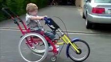 Handbike para los más peques