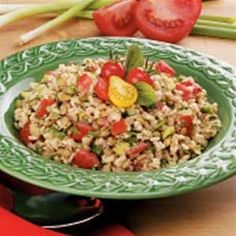 Rice and Lentil Salad - Healthy Eating Recipes for Everyday | Precise Portions