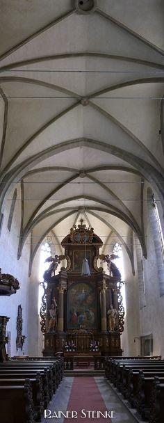 Klosterkirche Sankt Johannes der Täufer in Mariaburghausen bei Haßfurt