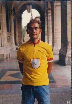 Marco Pantani 1990 il campione regionale dilettanti Emilia Romagna...