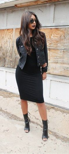 Stitch Stylist: a black denim jacket will be great too :)