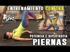 PIERNAS Y GLUTEOS PERFECTOS - ENTRENAMIENTO CON TRX - YouTube