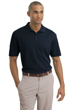 """<p><span style=""""font-size: small;""""><span style=""""font-family: Arial;"""">Nike Golf is known for classic polos engineered to take comfort to the next level. The Dri-FIT fabric technology delivers superior moisture management, while the stitch-trimmed shoulder panels and gussets make a distinctive difference. Flat knit collar, three-button placket and open hem sleeves. Pearlized buttons are selected to complement the shirt color. The contrast Swoosh d..."""