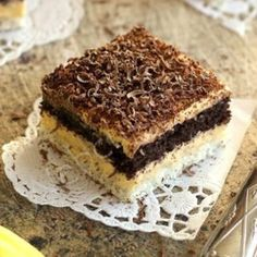 Kakaós nápolyi szelet Pisa, Tiramisu, Ethnic Recipes, Food, Mascarpone, Raffaello, Essen, Meals, Tiramisu Cake