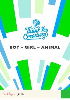 Thank you creativity! #canneslions #virr #green #creativity #sirfred #job #design #ideas #agency #communication #adv #award #boy #girl #animal #portfolio @sirfredlondon