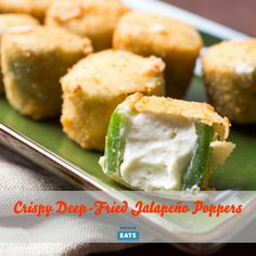 After trying some of the highest-rated jalapeño popper recipes online with disastrous results, we set to work developing a method that won't let you down. These poppers have a crisp golden crust and soft melted cheese interior—all in the perfect bite-size package.