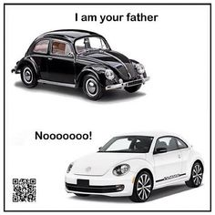 My classic bug is soooo much cooler than the new ones.