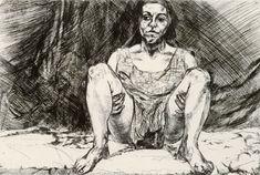 Abortion Series Set of 8 Etchings Untitled VIII 1999 Etching- Paula Rego