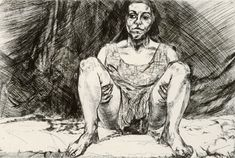 Abortion Series Set of 8 Etchings Untitled VIII 1999 Etching- Paula Rego