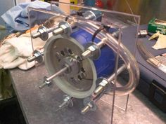 How to make a tesla turbine, via Instructables. Useful for a micro-hydro system. http://www.instructables.com/id/How-To-Make-A-Tesla-Turbine-Greenest-Turbine/