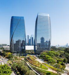 Galeria de São Paulo Corporate Towers / Aflalo/Gasperini Arquitetos + Pelli Clarke Pelli Architects - 1