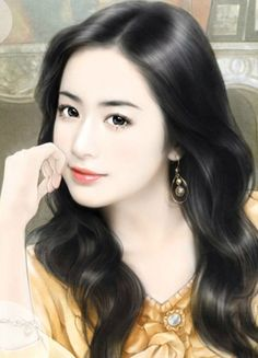 famous chinese painting of girl Beautiful Chinese Girl, Beautiful Anime Girl, Art Anime, Anime Art Girl, Anime Girls, Korean Beauty Girls, Asian Beauty, Chinese Painting, Chinese Art