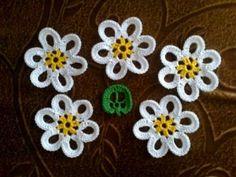 Varias flores al crochet con sus respectivos patrones | Crochet y Dos agujas