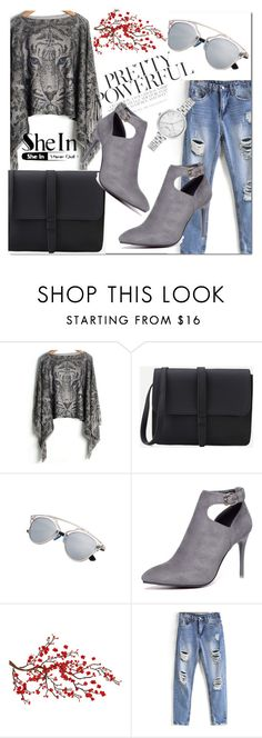 """SheIn 1/10 :)"" by leagoo ❤ liked on Polyvore featuring Brewster Home Fashions and Kate Spade"