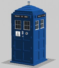 LEGO Set MOC-0861 Dr. WHO 11th Doctor TARDIS - building instructions and parts list. Theme: Creator; Year: 2013; Parts: 1305; Colors: 4; Tags: creator dr who moc whovian