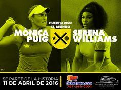 Monica Puig vs. Serena Williams #sondeaquipr #monicapuig #serenawilliams #coliseopr #choliseo #sanjuan