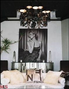 Old Hollywood Style Bedroom | Hilton's 1926, 3000 sqft, 4 bedroom, 3.5 bath home in the Hollywood ...