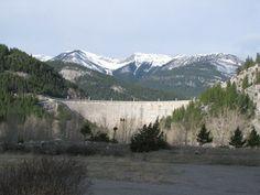 Photo of Gibson Dam, Montana