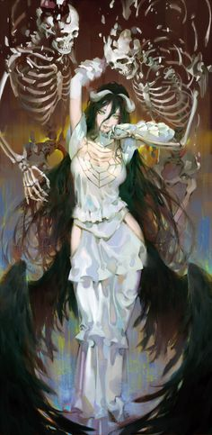 "nazarick-graveyard-debauchery: "" albedo 