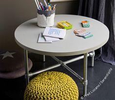 PVC pipe furniture for children's bedroom